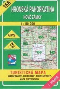 Hronská pahorkatina - Nové Zámky - mapa VKÚ č.156 -1:50 000 /Slovensko/