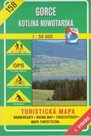 Gorce, Kotlina Nowotarska - mapa VKÚ č.158 - 1:50 000 /Slovensko/