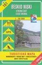 Beskid Niski - střed - mapa VKÚ č.161 - 1:50 000 /Slovensko,Polsko/
