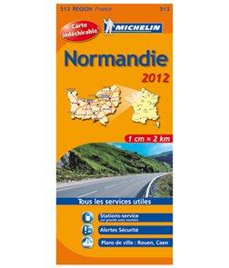 Francie - Normandie - mapa Michelin č.513 - 1:200 000
