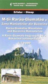 Rumunsko - Muntii Rarau-Giumalau, kláštery Bukoviny - mapa Dimap č.30 - 1:70 000