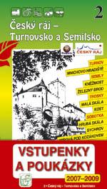 Český ráj - Turnovsko a Semilsko - průvodce Soukup-David č.2 /+volné vstupenky/