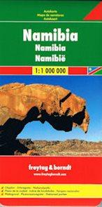 Namibie - mapa Freytag - 1:1 200 000