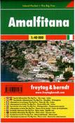 Itálie - Amalfitana - minimapa Freytag - 1:40 000
