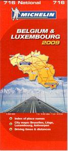 Belgie, Lucembursko - mapa Michelin č.716 - 1:350 000, Sleva 10%