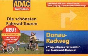 Dunajská stezka - cykloprůvodce ADAC - 1:75 000