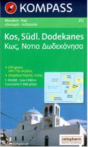 Řecko - Kos, Kalimnos, jižní Dodekanésy - mapa Kompass č.252 - 1:50 000