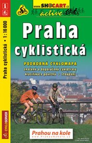 Praha cyklistická - cyklo SHOCart - 1:16 000