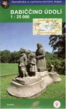 Babiččino údolí - mapa GoL - 1:25 000