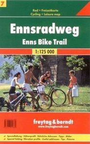 Ennsradweg - cykloprůvodce Freytag č.7 -1:125 000 /Rakousko/