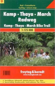Kamp-Thaya-March Radweg - cykloprůvodce Freytag č.9 - 1:125 000 /Rakousko/