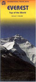 Mt. Everest - mapa ITM - 1:100 00 /Nepál,Čína/