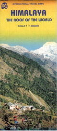 Himálaje - mapa 1:1 300 000