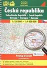 Česká republika - autoatlas Freytag - 1:150 0000 + Evropa 1:4 000 000