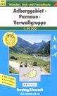 Arlberggebiet, Paznaun, Verwallgruppe - mapa WK372 - 1:50 000 /Rakousko/