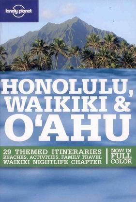 Honolulu, Waikiki, Oahu - Lonely Planet Guide Book - 4th ed. /USA-Havajské o./ - A5, paperback, křídový papír