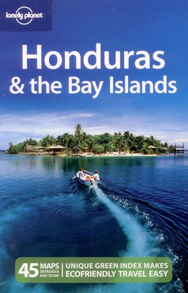 Honduras, the Bay Island - Lonely Planet Guide Book - 2nd ed. - 130x198mm, paperback