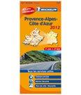 Francie - Provence-Alpes, Cote dAzur - mapa Michelin - 1:200 000