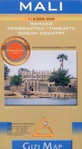 Mali - mapa Gizi - 1:2 000 000