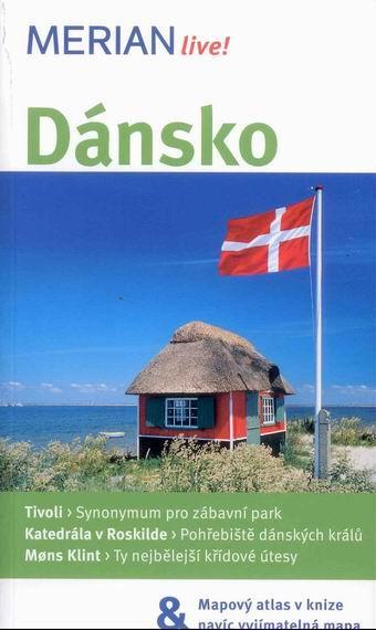 Dánsko - průvodce Merian č.38 - 3.vydání - Hansen J. - 110x190mm, paperback, + vložená mapa