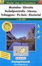 Silvretta Hochalpenstrasse, Schruns-Tschagguns, Piz Buin, Klostertal - mapa WK374 - 1:50t /Švýcarsko