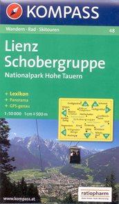 Lienz, Schobergruppe - mapa Kompass č.48 - 1:50 000 /Rakousko/