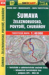 Šumava - Železnorudsko, Povydří, Churáňov - mapa SHOCart č. 434 - 1:40 000