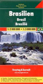 Brazílie - mapa Freytag & Berndt 1:2 000 000 / 1:3 000 000