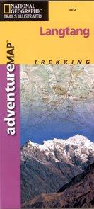 Langtang - trekkingová mapa National Geographic - 1:125 000 /Nepál/