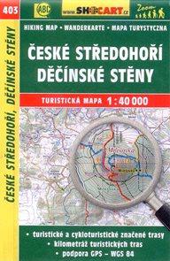 České středohoří, Děčínské stěny - mapa SHOCart č.403 - 1:40 000