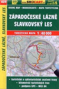 Západočeské lázně, Slavkovský les - mapa SHOCart č.409 - 1:40 000