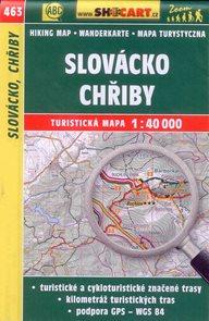 Slovácko, Chřiby - mapa SHOCart č.463 - 1:40 000