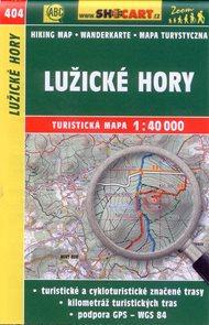 Lužické hory - mapa SHOCart č.404 - 1:40 000