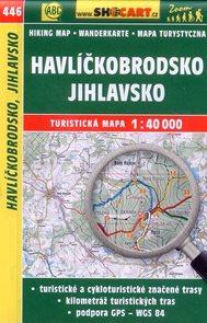 Havlíčkobrodsko, Jihlavsko - mapa SHOCart č.446 - 1:40 000