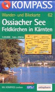Ossiacher See - mapa Kompass č.62 - 1:25 000 /Rakousko/