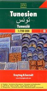 Tunisko - mapa Freytag & Berndt 1:700 000