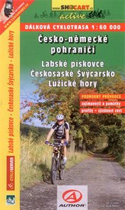 Česko-německé pohraničí - Labské pískovce, Českosaské Švýcarsko, Lužické hory - cykloprůvodce SHOCar