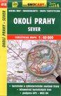 Okolí Prahy - sever - mapa SHOCart č.418 - 1:40 000