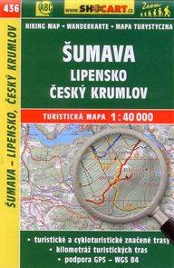 Šumava - Lipensko, Český Krumlov - mapa SHOCart č.436 - 1:40 000