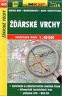Žďárské vrchy - mapa SHOCart č.449 - 1:40 000