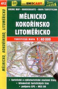 Mělnicko, Kokořínsko, Litoměřicko - mapa SHOCart č.412 - 1:40 000