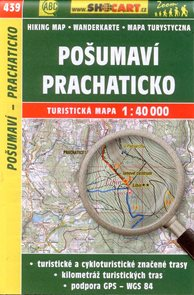 Pošumaví - Prachaticko - mapa SHOCart č.439 - 1:40 000