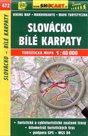 Slovácko, Bílé Karpaty - mapa SHOCart č.472 - 1:40 000