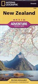 New Zealand /Nový Zéland/ - mapa National Geographic 1:1 100 000