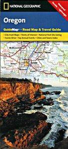 Oregon - mapa National Geographic