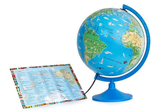 Globus Family Solid - dětský 30cm v angličtině
