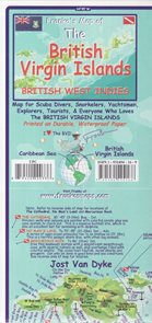 The British Virgin Islands Franko´s map