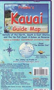 Kauai Guide Franko´s map