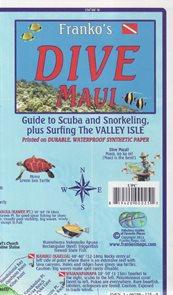 Maui Dive Franko´s map