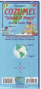 Conzumel Dive and Guide Map